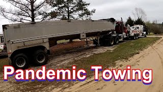 Pandemic Towing - H๐w to safely tow a semi truck that has been quarantined