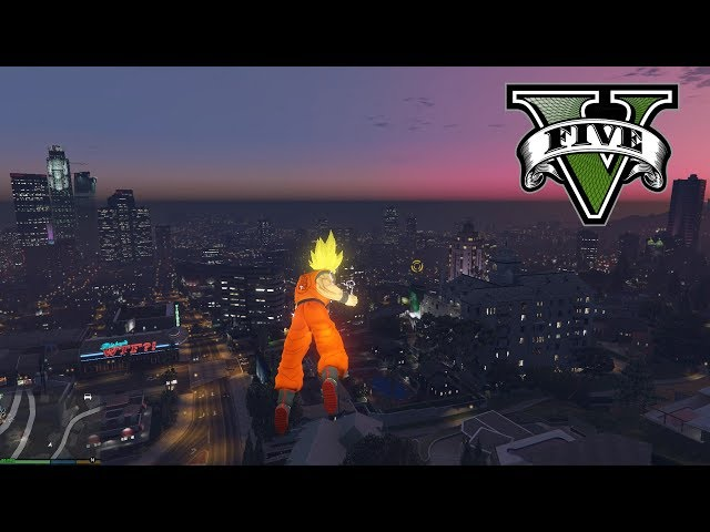 Goku Added to 'Grand Theft Auto V' by JulioNIB | HYPEBEAST