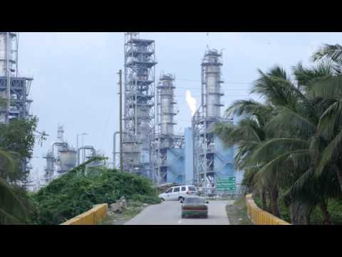 'Sickening' smoke rises from chemical plant near Verde Island Passage