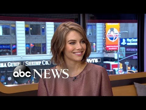 Lauren Cohan dishes on her new film 'Mile 22'