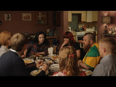"""Paige learns she has earned a WWE tryout in """"Fighting with My Family"""""""