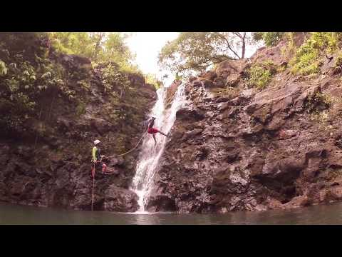 50ft Waterfall Rappeling