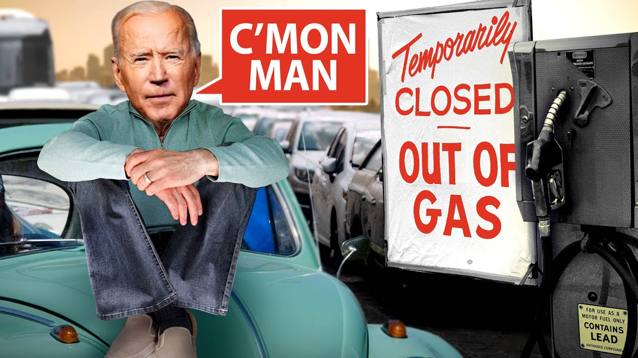 CRAP SHOW: Biden's Gas SHORTAGE And Other Disasters