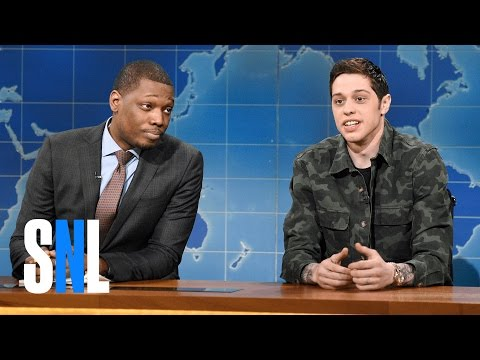 Weekend Update: Pete Davidson's First Impressions of the Trump Administration - SNL