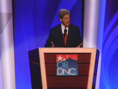 Download Youtube: Senator John Kerry at the 2008 DNC