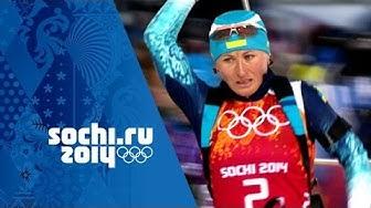 Women's Biathlon Golds Inc: Darya Domracheva - Triple Olympic Champion | Sochi Olympic Champions