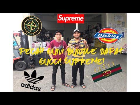 Vlog Pecah Guni Bundle Dapat Supreme! Gucci! & Stone Island! #MVlog1