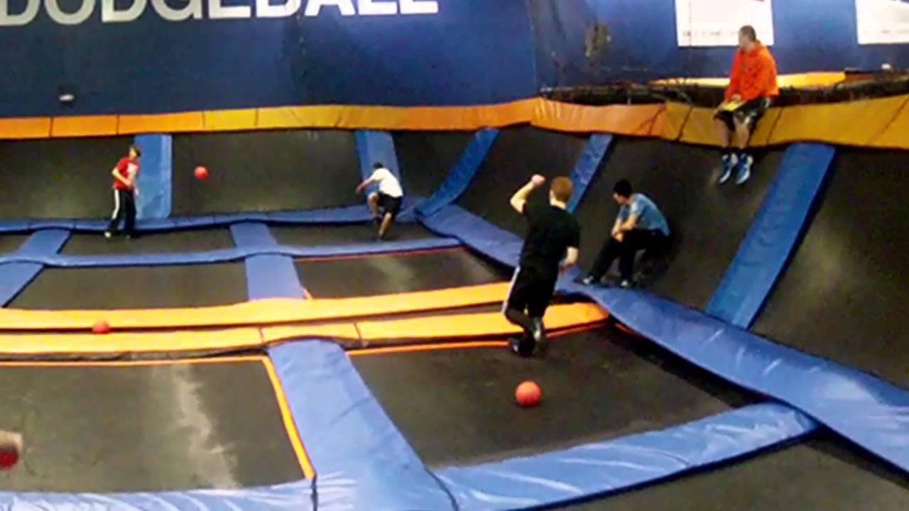 Sky Zone Winter War Dodgeball Tournament 2013 Youtube
