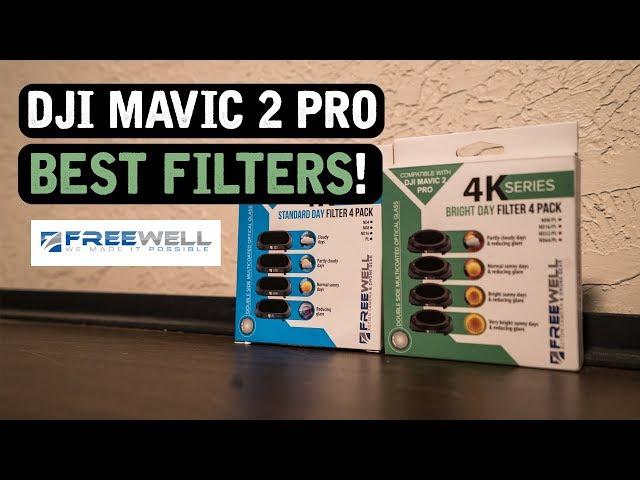 DJI Mavic 2 Pro / BEST FILTERS! (Freewell Gear)