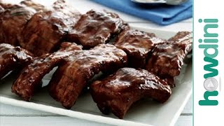 How To Make BBQ Ribs - Grilling Baby Back Ribs