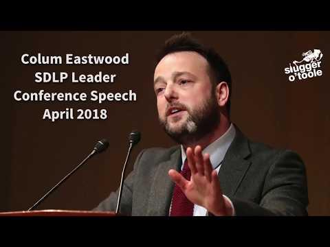 Colum Eastwood SDLP Leaders Speech #SDLP18