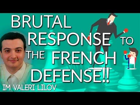 KIA: A Brutal Response to the French Defense - IM Valeri Lilov (Lilov Chess Institute)