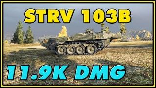 World of Tanks | Strv 103B - 8 Kills - 11.9K Damage