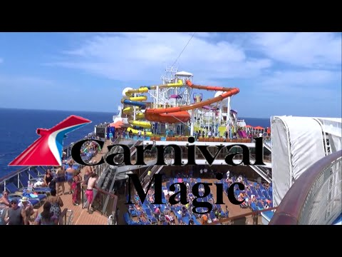 Carnival Magic Tour & Review with The Legend