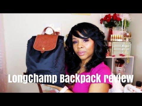 LongChamp Le Pliage Backpack/REVIEW