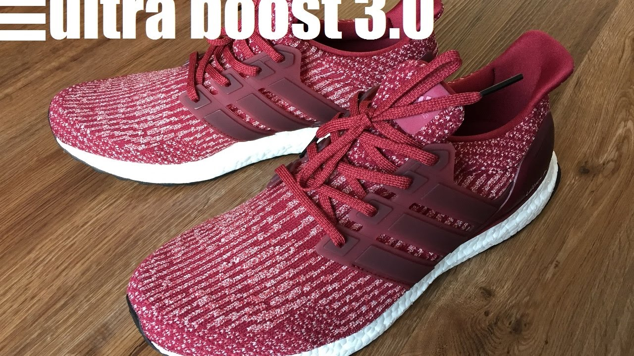 Adidas Ultra Boost Burgundy Mystery Red
