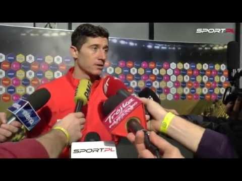 Rumunia - Polska 0:3. Robert Lewandowski o incydencie z petardą