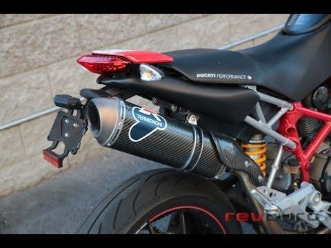Ducati Hypermotard  Termignoni Exhaust