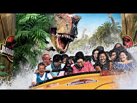 Welcome To Jurassic Park Complete Ride At Universal Studios