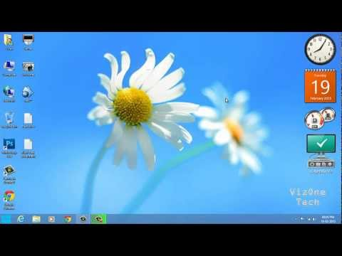 Windows 8 Fix - How To Enable Gadgets In Windows 8