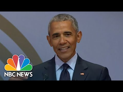 Former President Barack Obama: 'The Denial Of Facts Runs Counter To Democracy'  NBC