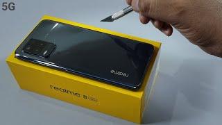 Realme 8 5G Unboxing & Camera Test | Black Colour
