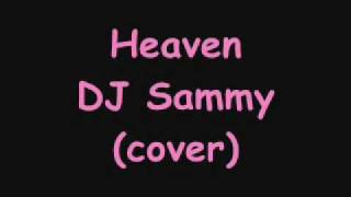 Christygirl1993 singing Heaven- DJ Sammy