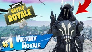 Silver ICE KING Skin Gameplay In Fortnite Battle Royale