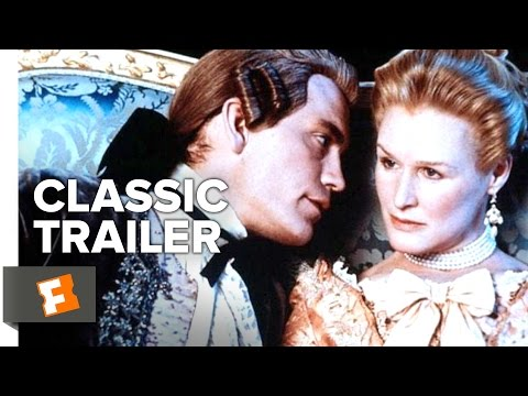 Dangerous Liaisons (1988) Official Trailer - Glenn Close, John Malkovich Movie HD