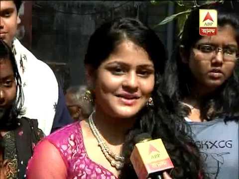 'Jhilik' Tithi's saraswati pujo