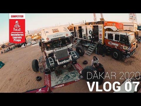 InstaForex Loprais Team DAKAR 2020   Stage 3 - VLOG 07