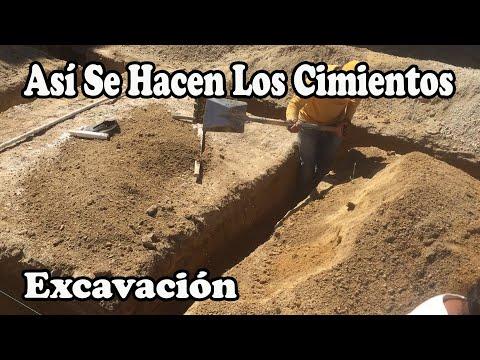 Como hacer los cimientos de una casa parte 1 youtube for Como construir una pileta de hormigon
