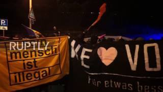 Germany  Activists protest Europe of Nations and Freedom conference in Koblenz
