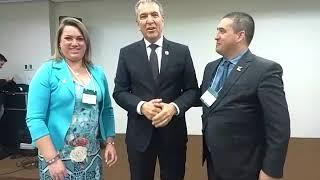 PRESIDENTE DA NIPPONFLEX, VALDENIR, MANDA RECADO PRA EQUIPE MONTEKIDA