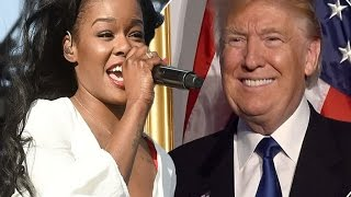 azealia banks demands to perform at trump inauguration the line up made me upset