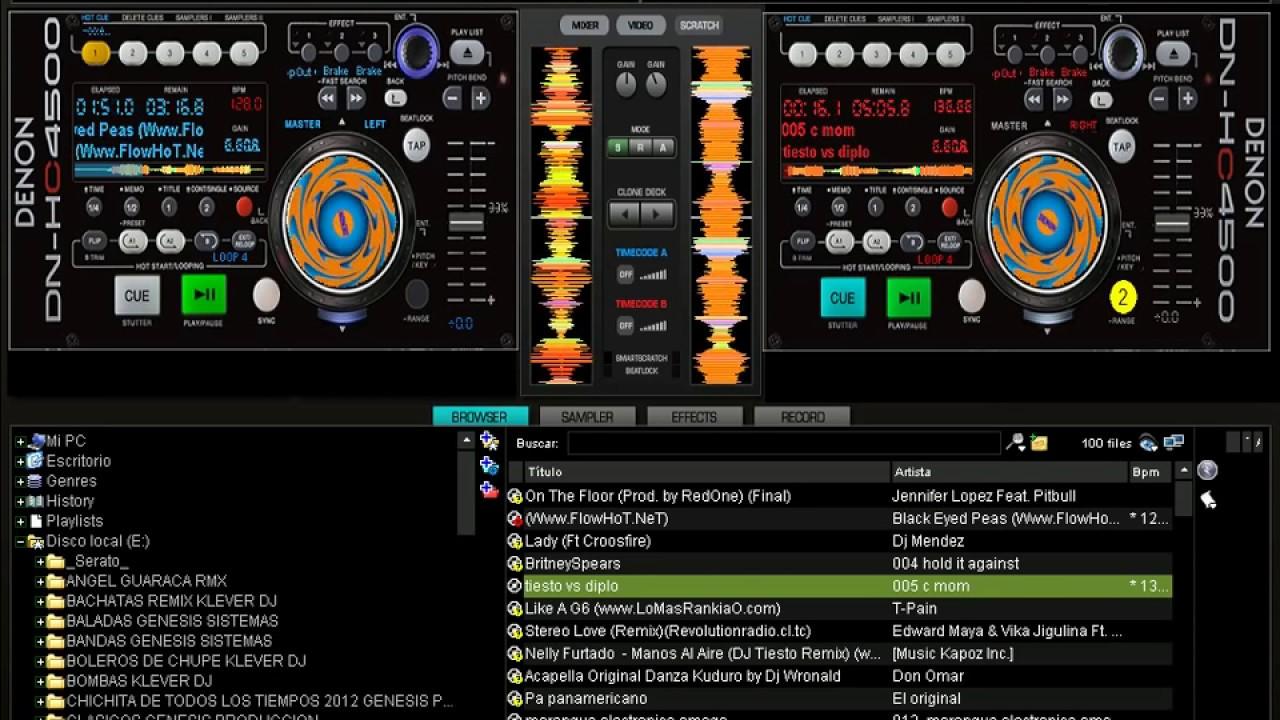 SKINS 2014 PARA VIRTUAL DJ 7.4.1 DENON 4500 HC Y DENON ... Virtual Dj Skins Denon