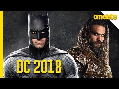 O QUE ESPERAR DA DC EM 2018 | OmeleTV