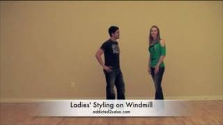 Salsa Dance Video : The Windmill Pattern