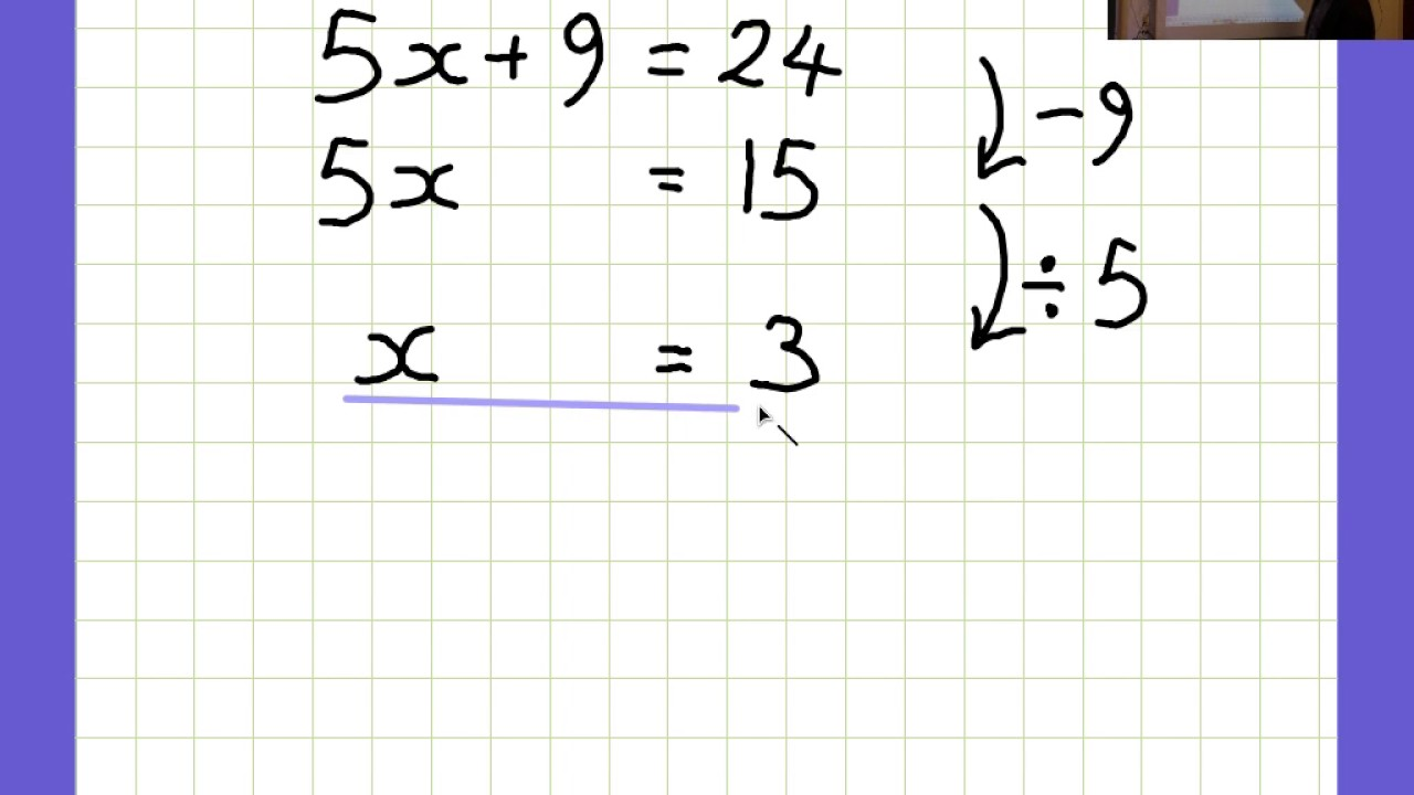 ALGEBRA Questions and answers - YouTube