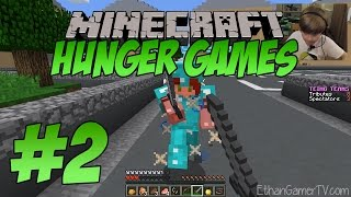 minecraft hunger games silent but deadly   kid gaming