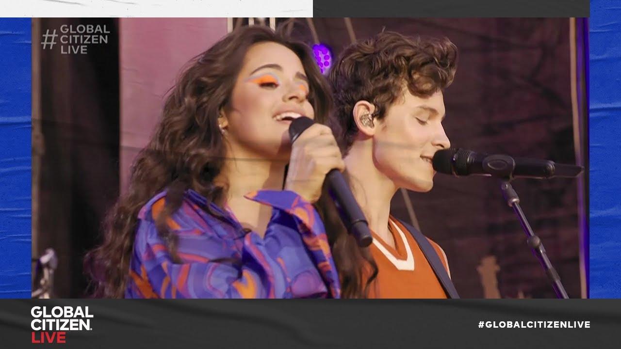 Camila Cabello u0026 Shawn Mendes  Seorita Live in New York City 2021  Global Citizen Live