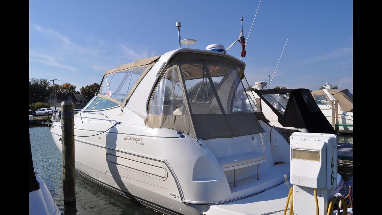 1997 Cruisers Yachts 3575 Esprit Sold
