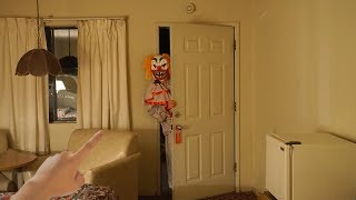 Clown BREAKS IN To My Room At The CLOWN MOTEL..