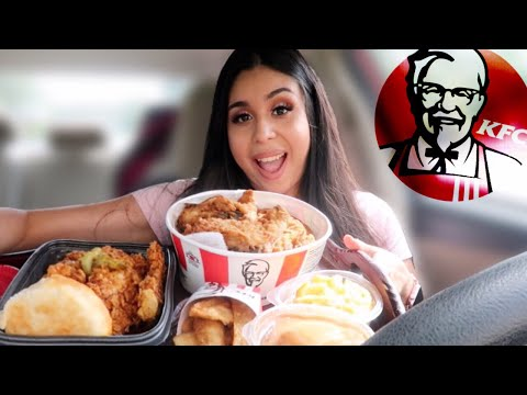 KFC MUKBANG! HOT