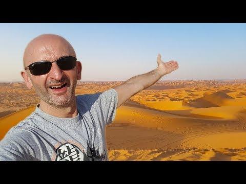 Je Fais du Quad Dans le Désert d'Abu Dhabi à 45° !