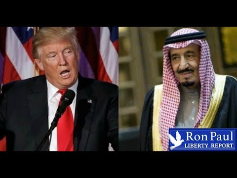 Trump To Saudi King: Pay Up For US Military Protection!