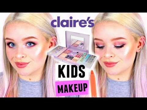 FULL FACE USING ONLY KIDS/CLAIRE'S MAKEUP! | sophdoesnails