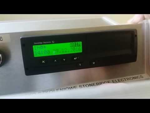 Stoneridge rev. 6 (starsze modele od 2006) - Wpis manualny na odpoczynek powyżej 24h