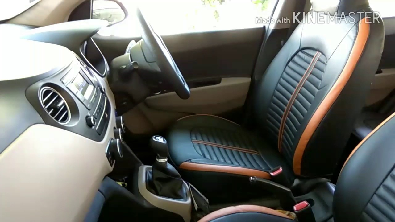Grand I10 New Seat Cover Amp Matting Youtube