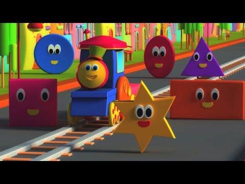 Bob Il Treno forme avventura imparare le forme Nursery Rhymes Bob The Train Shapes Adventure
